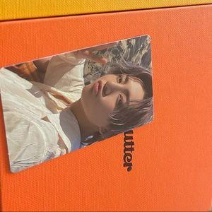 BTS JK photo card butter album
